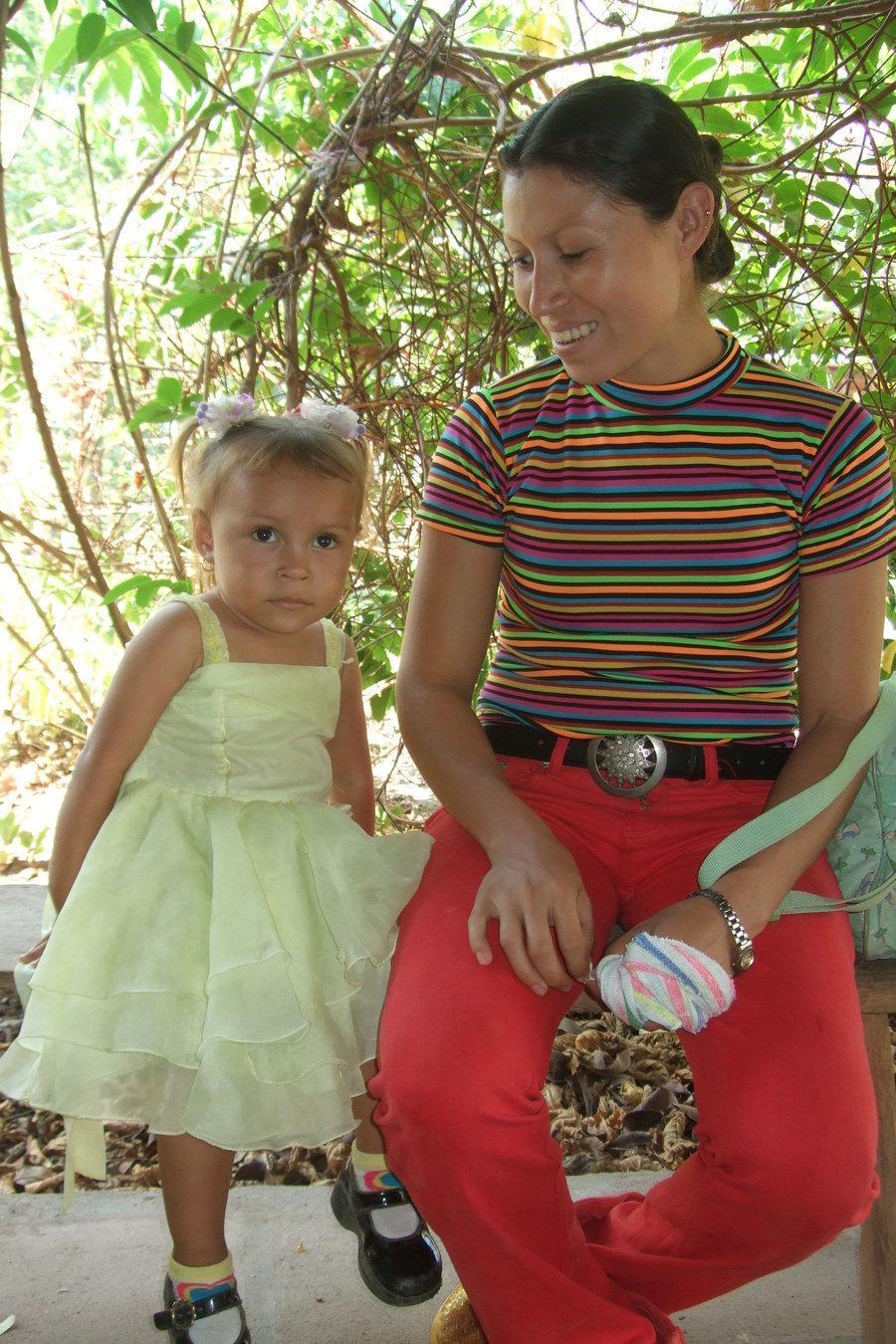 Sonia u. ihre Tochter Darmali