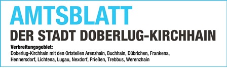 Amtsblatt der Stadt Doberlug-Kirchhain