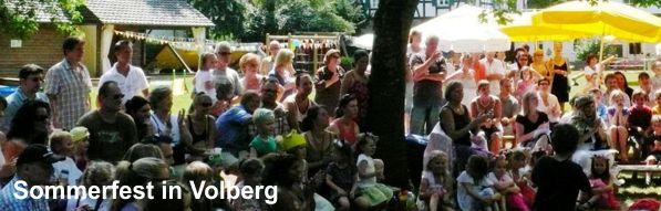 Sommerfest in Volberg