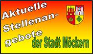 Stellenanbebote der Stadt Möckern