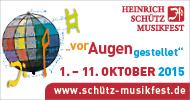 Heinrich Schütz Musikfest 2015
