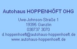 Autohaus Hoppenhöft