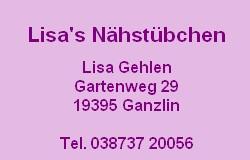 Lisas Nähstübchen