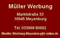 Werbung Müller