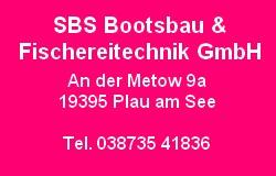 SBS Bootsbau