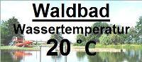 Wassertemperatur Waldbad Ellrich
