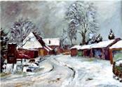 Hof Reimers im Winter