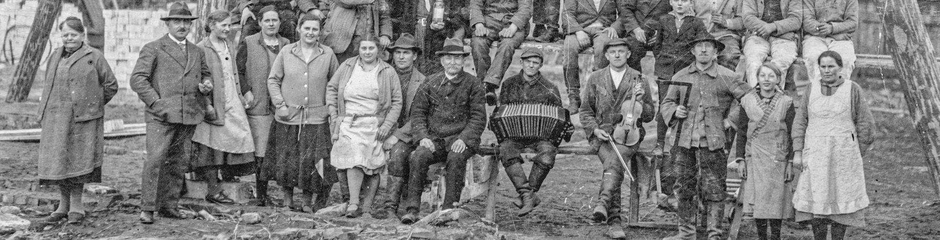 Hof Görn Scheunenneubau 1932