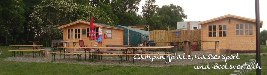Campingplatz mit Wassersport und Bootsverleih / Gröninger Bode Bootsverleih