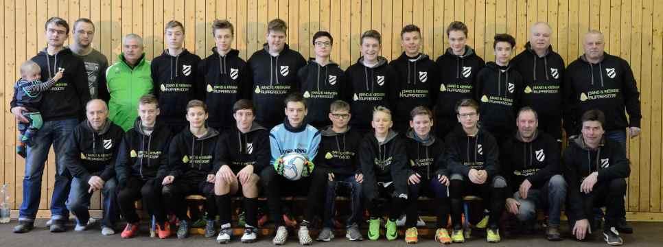 C-Junioren-SpG TSV 1890 Ruppersdorf/SG Leutersdorf, Spielzeit 2016/17