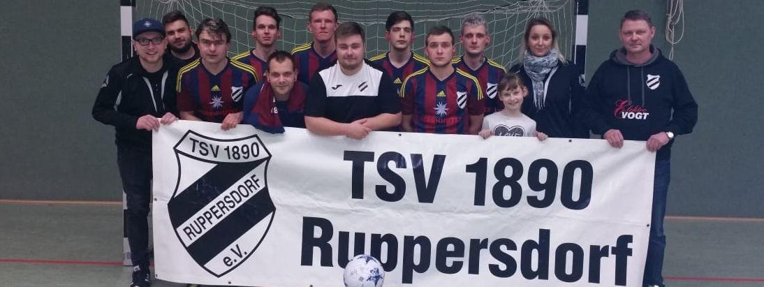 1. Platz Halle Ostritz, Männermannschaft TSV 1890 Ruppersdorf, Januar 2019