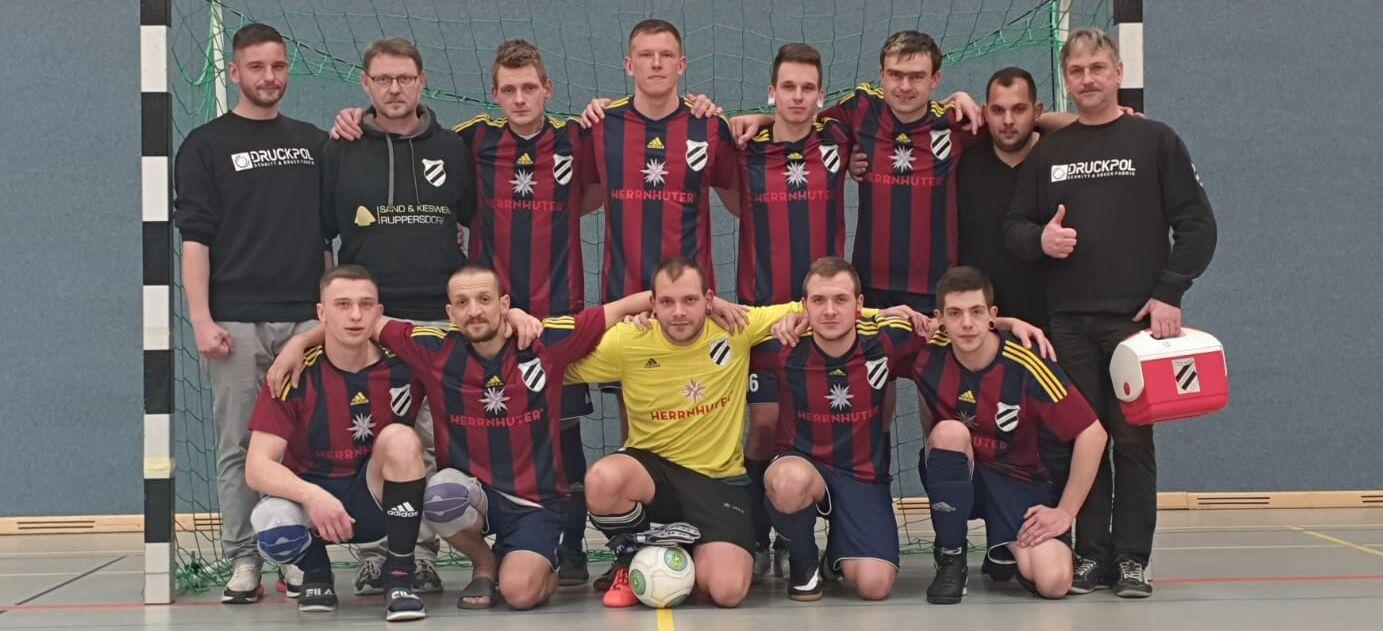 1. Platz HKM Vorrunde 19/20, Männermannschaft TSV 1890 Ruppersdorf, Dezember 2019