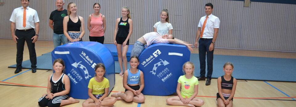Flick-Flack-Trainer für den Turnverein-Wallersdorf