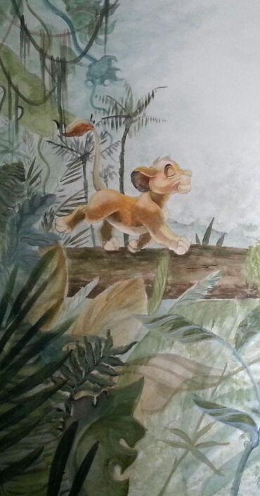 Wandmalerei_Dschungelbuch