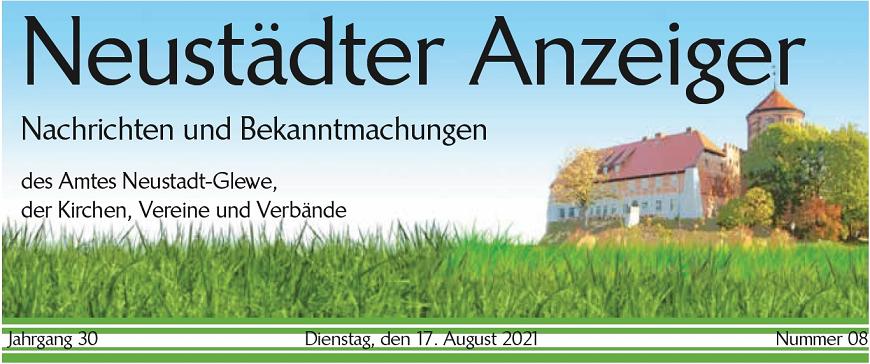 Neustädter Anzeiger   vom 17.08.2021