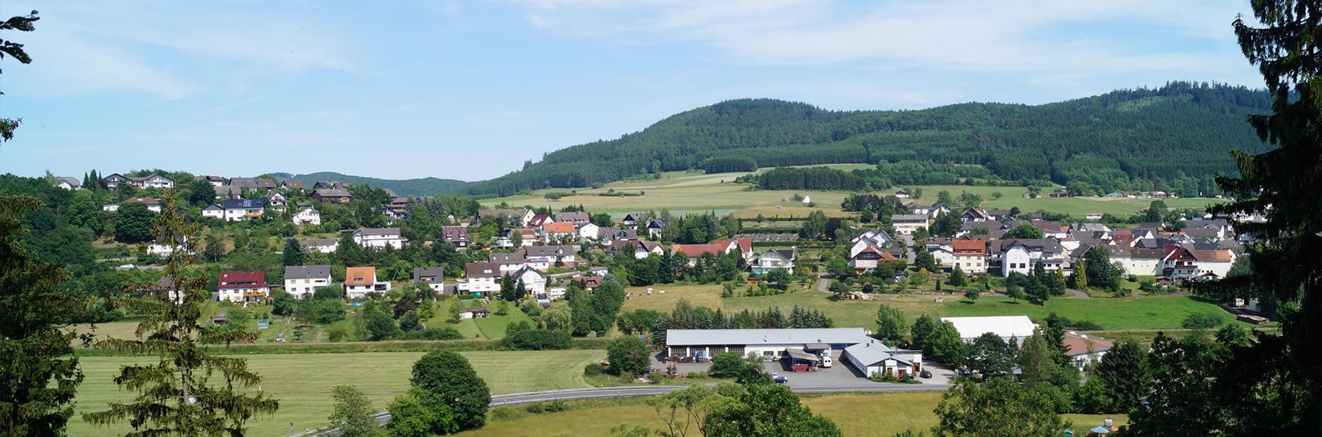Blick auf Reddighausen
