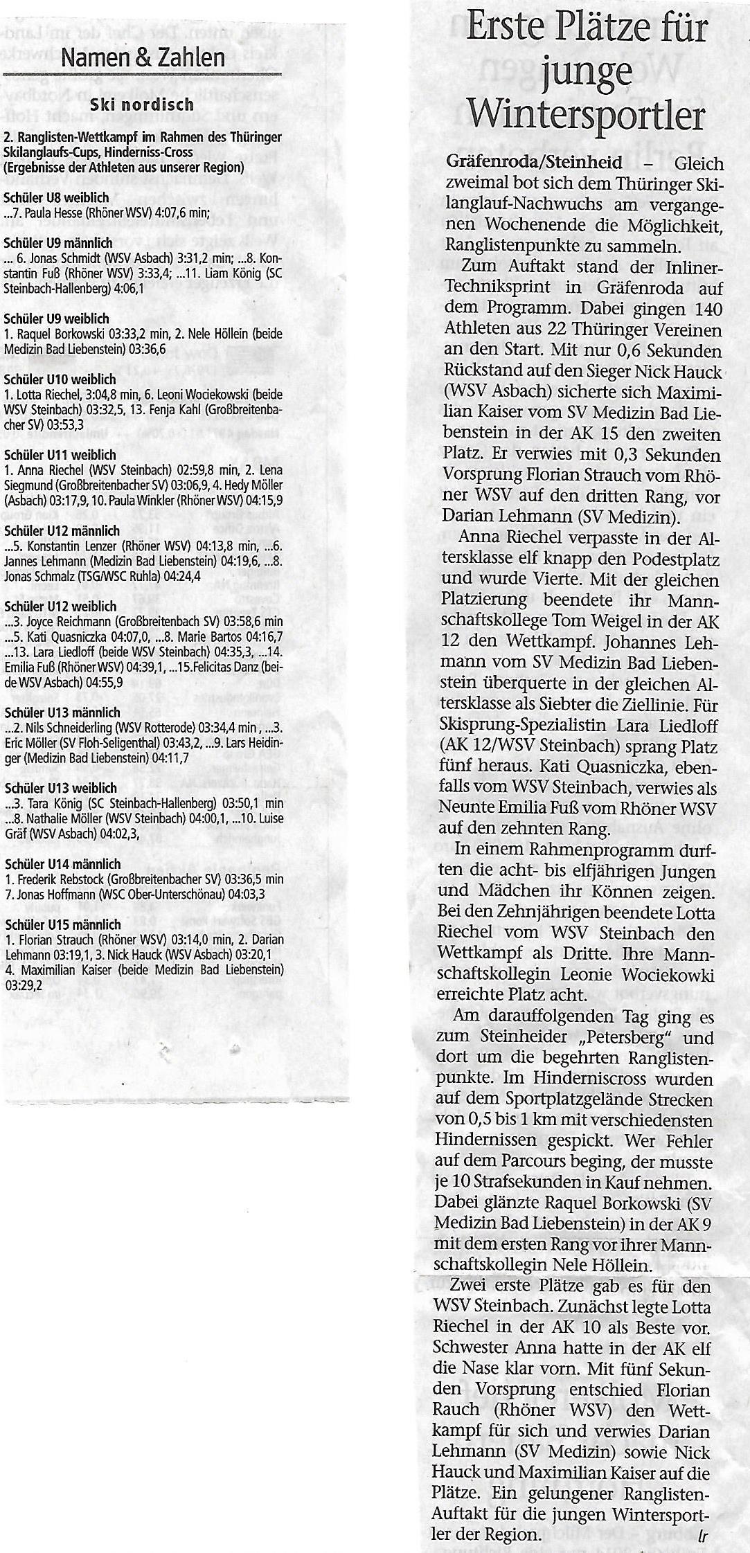 wsv 1907 steinbach e.v. - wsv 1907 steinbach e.v., Hause ideen