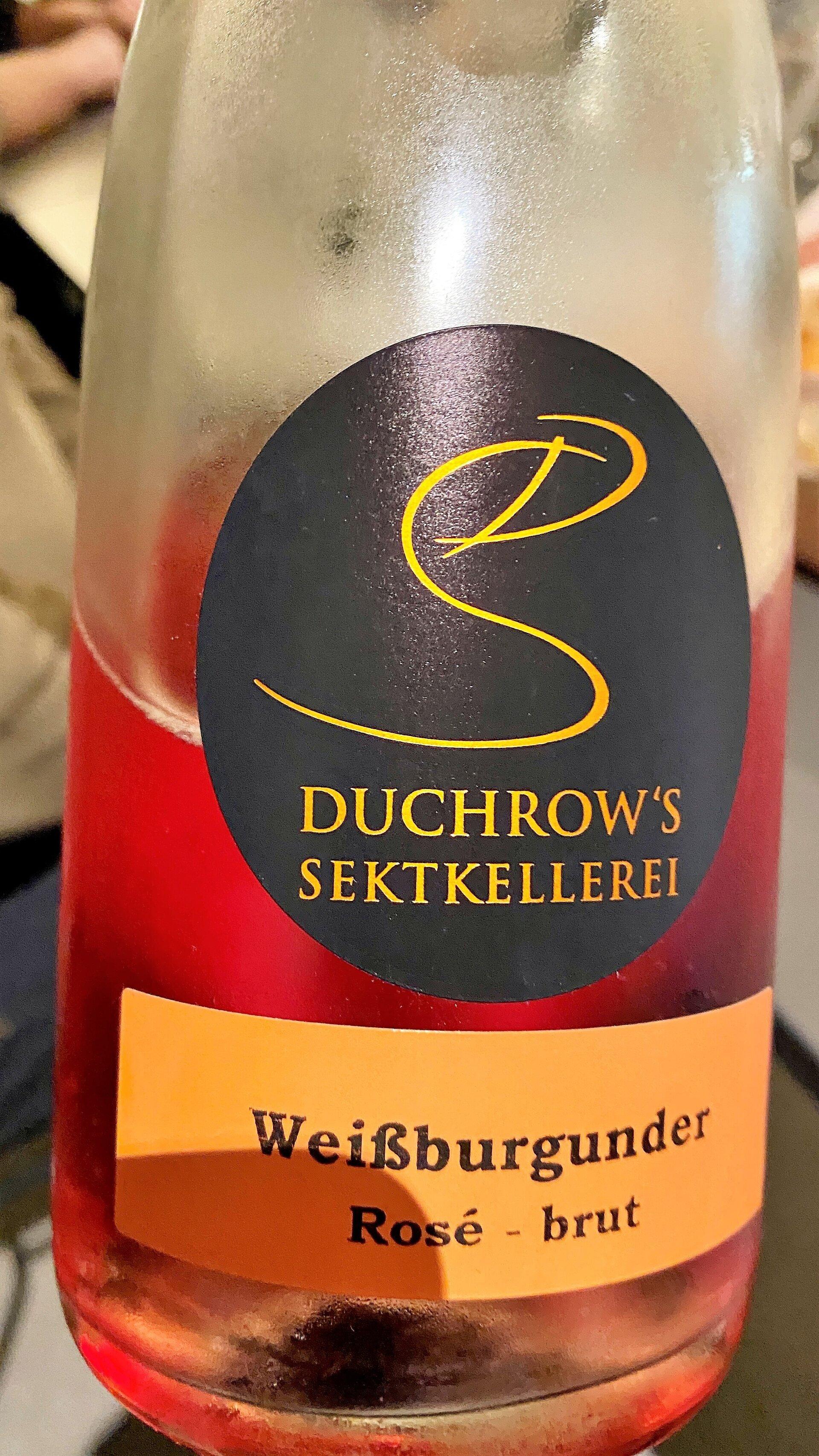 Weißburgunder Rosé brut