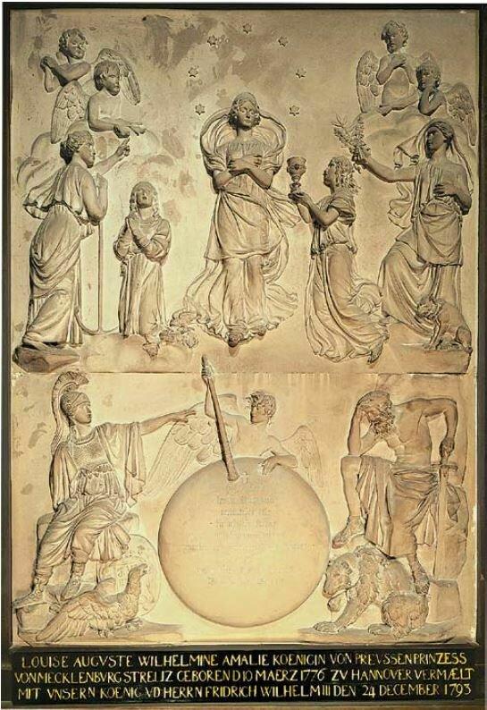 Johann Gottfried Schadow: Apotheose der Königin Luies