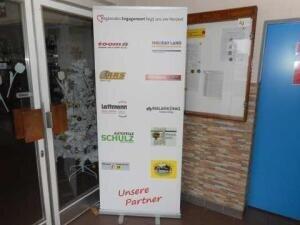 Werbeträger Foyer