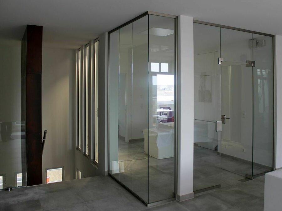 Glaseinfassung Büro