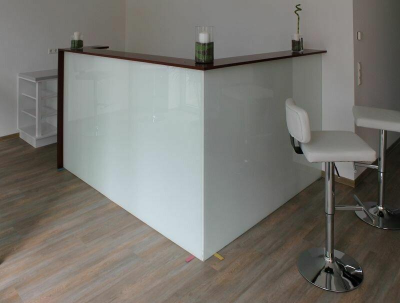 Glastresen - Glasmöbel