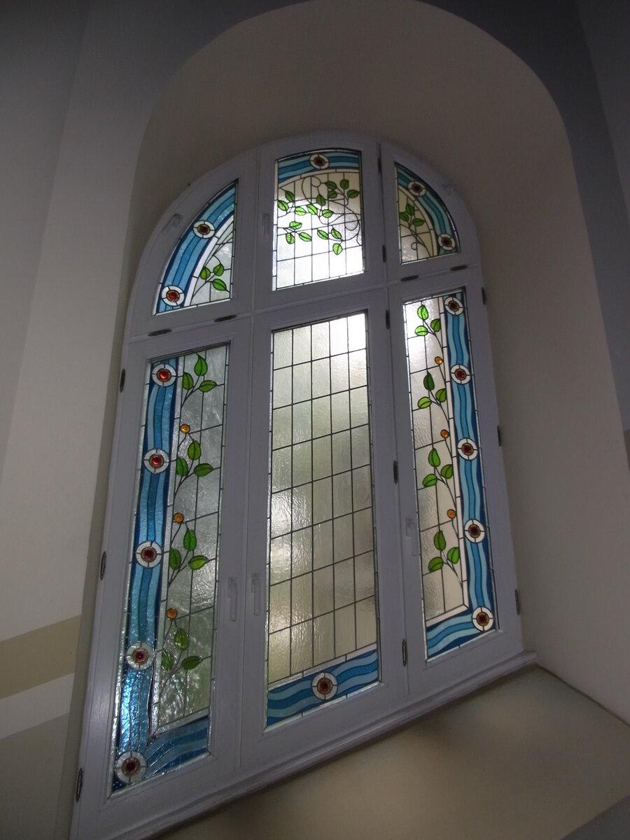 Neubau Fensterbilder - Glasdruck