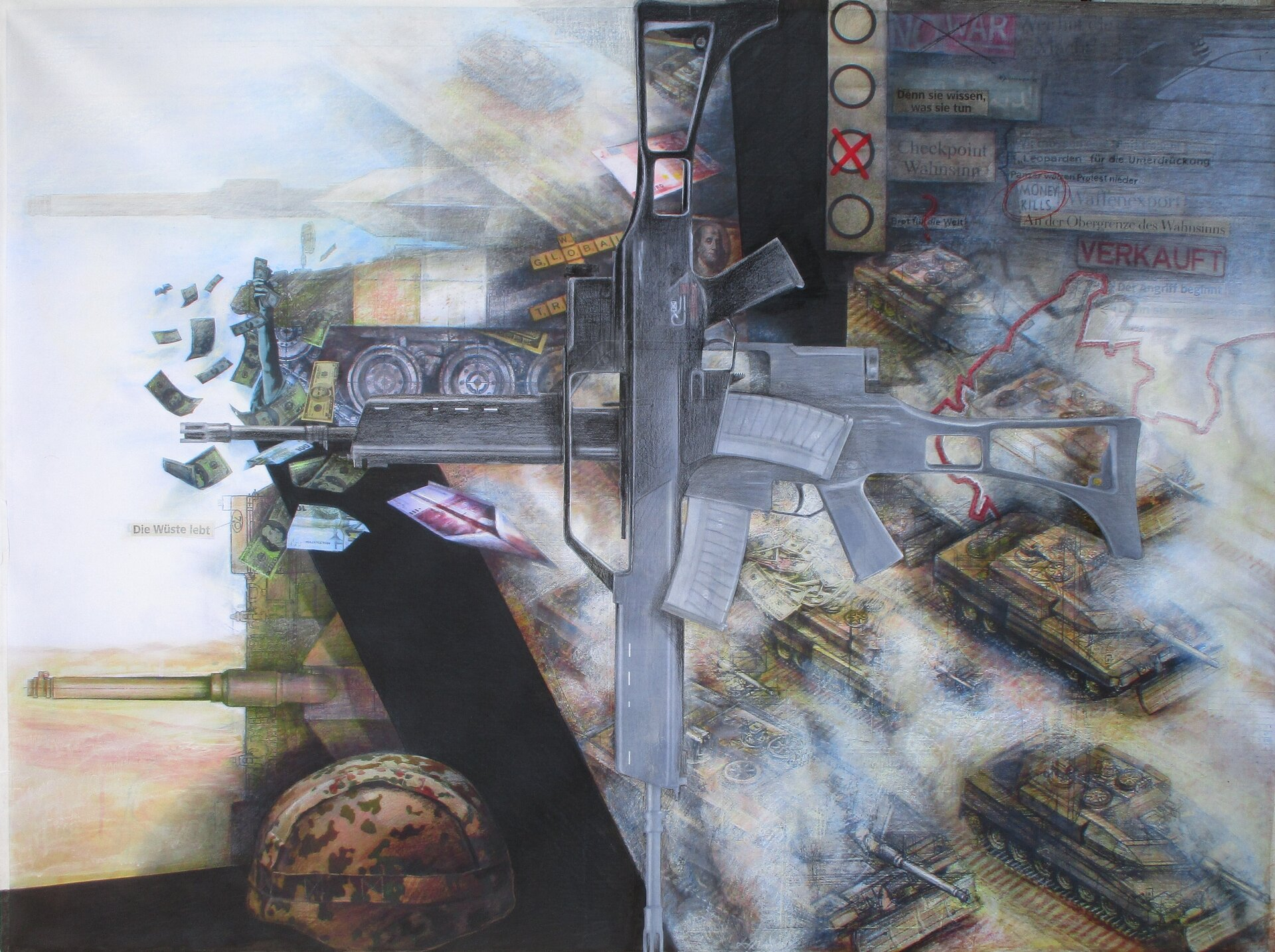 made in Germany -- 90 x 120 cm, 2021