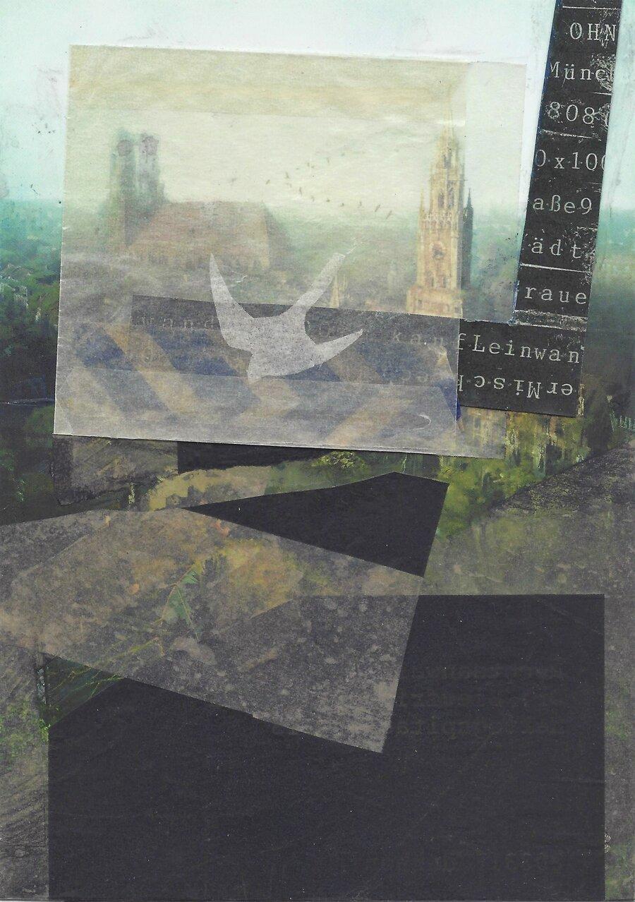 Stadtfinden - 14,8 x 10,4 cm, 2017