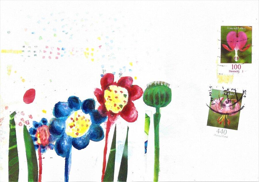Blumen - 10,5 x 14,8 cm, 2016