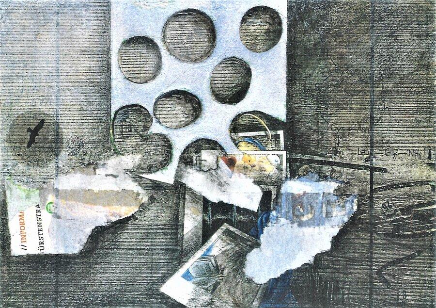 Einblicke - 10,5 x 14,8 cm, 2016