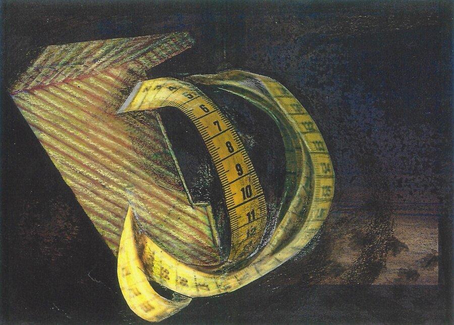 Maßwerk - 10,5 x 14,8 cm, 2016
