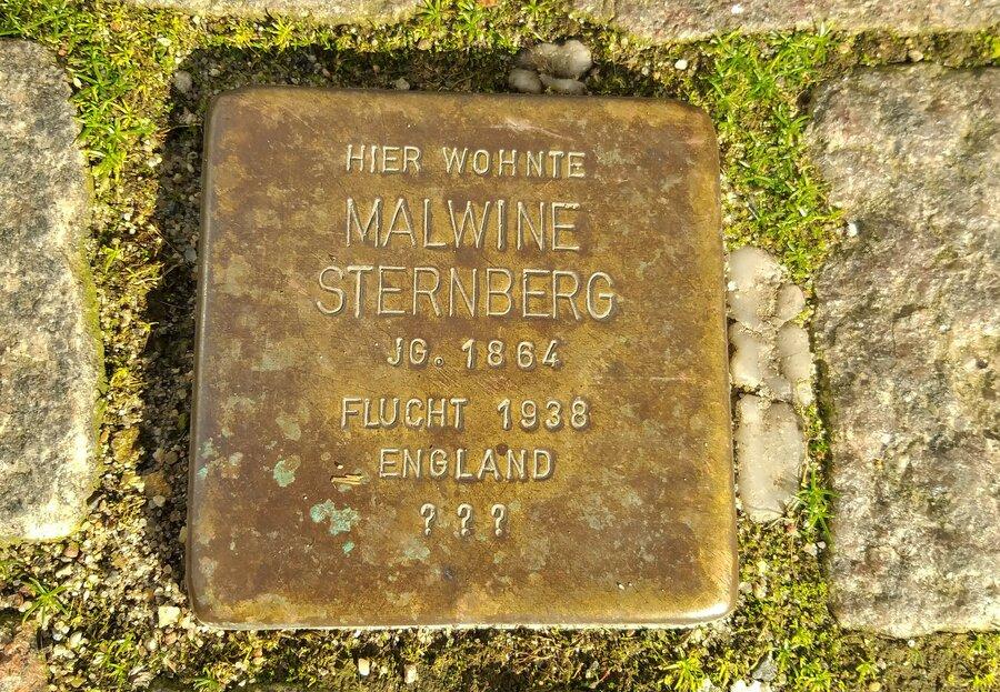 Stolperstein für Malwine Sternberg