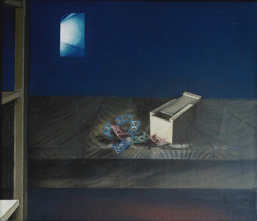 Spielraum -  Acryl auf Leinwand, 60 x 70 cm, 2006