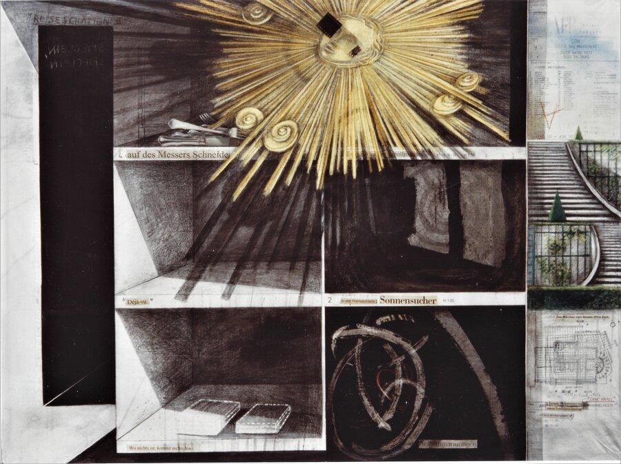 Sanssouci - 90 x 120 cm, 2001