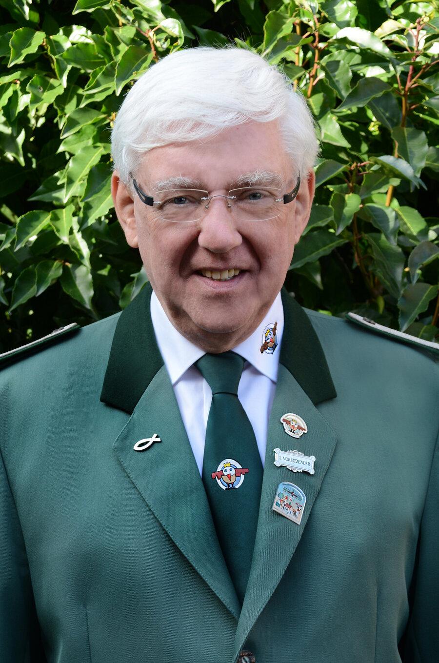 1. Vorsitzender Heinrich Lindenbaum (Quelle: Vereinigte Schützenbruderschaft Laer von 2010 e.V.)