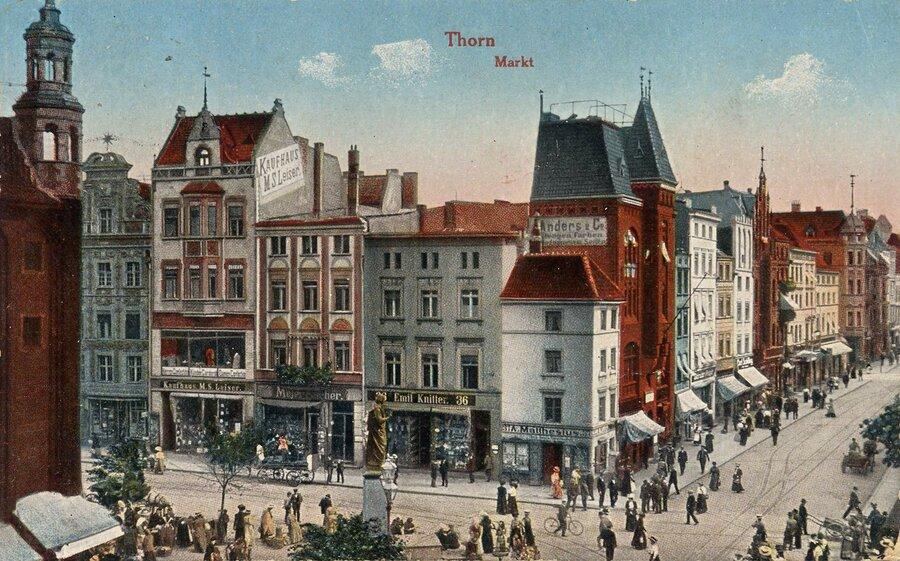 Thorn, Altstädtischer Markt Ecke Breite Straße, ©Stephan Becker, Brüssow