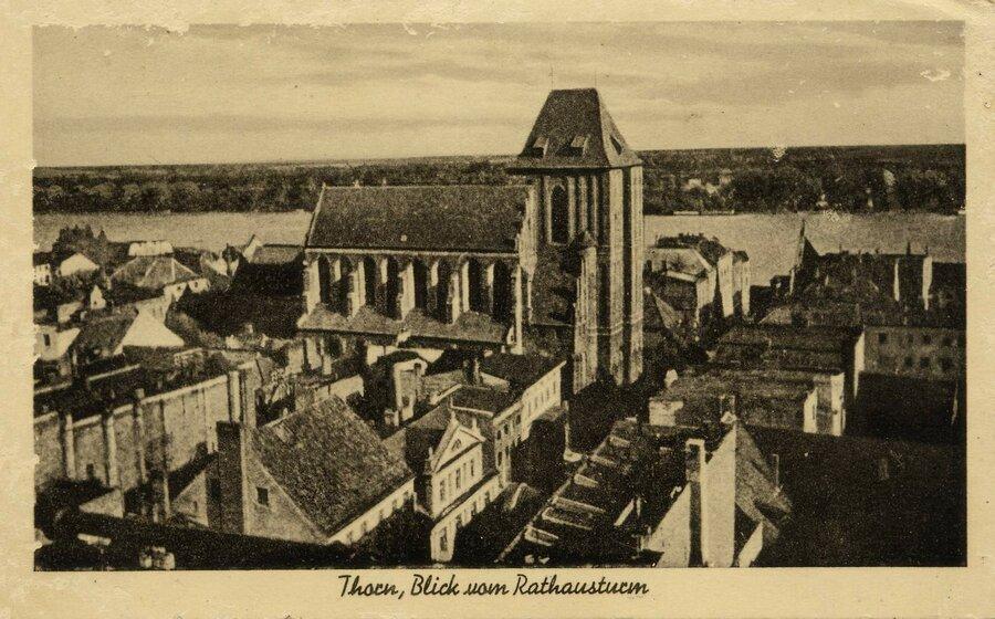 Thorn, Seglerstraße mit Johanniskirche, ©Stephan Becker, Brüssow