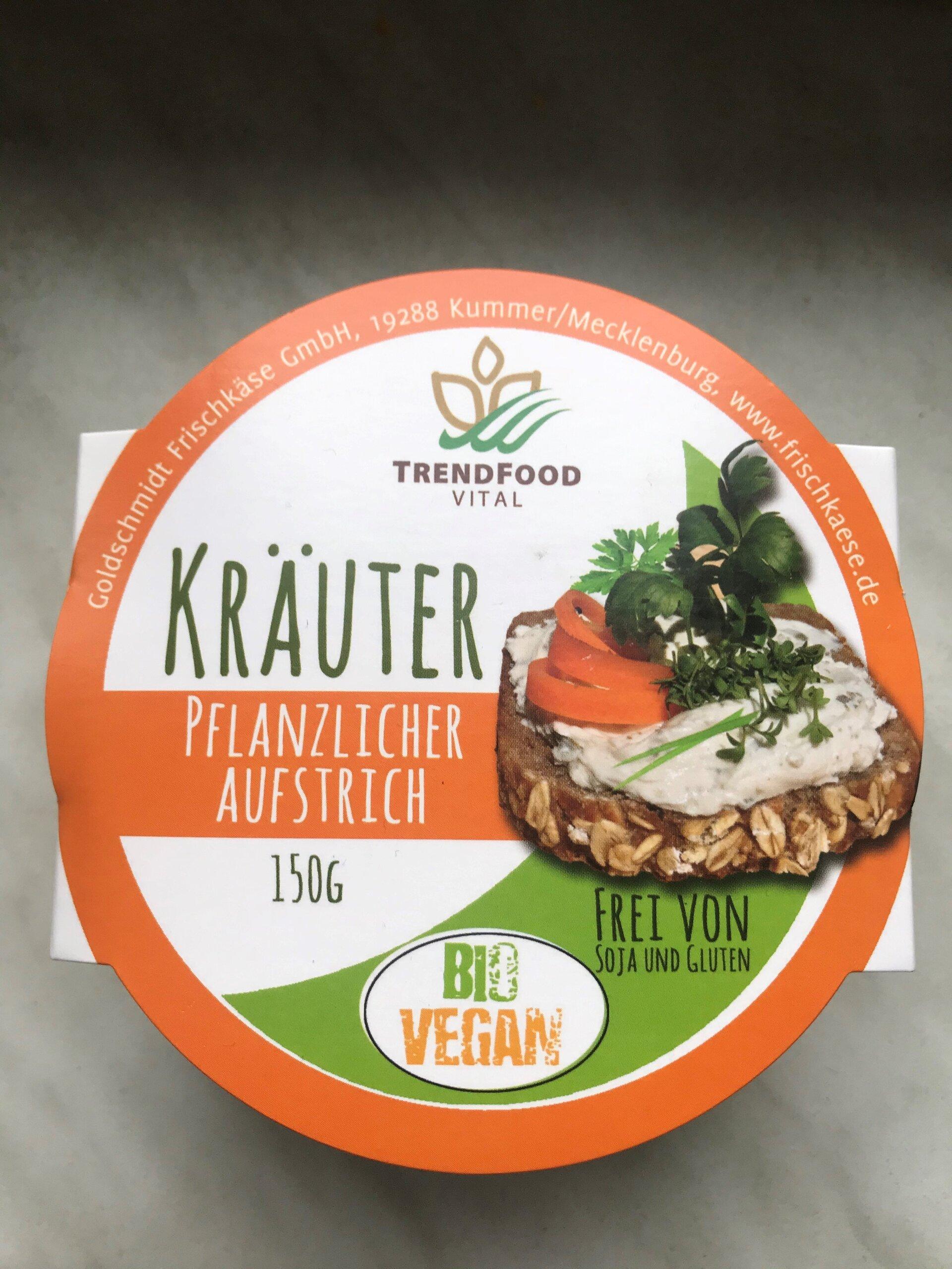 Vegan Kräuterfrischkäse