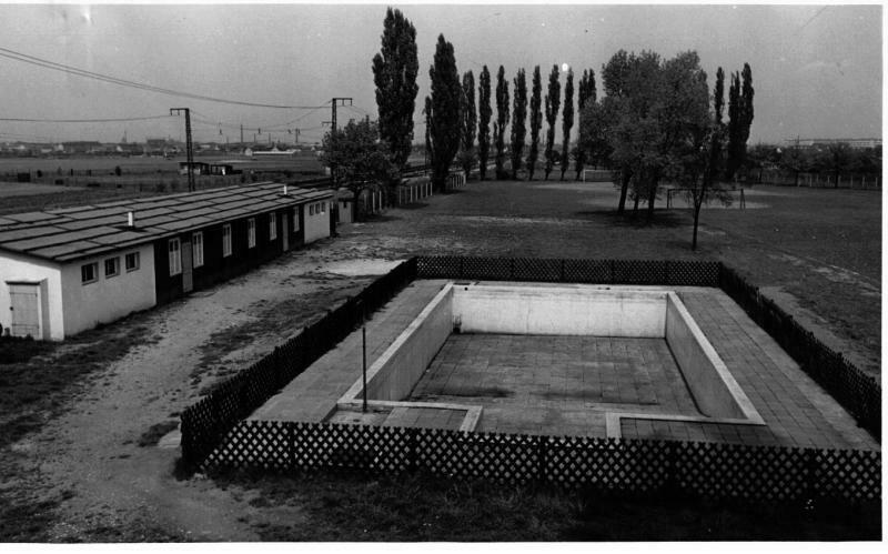 ehemaliger Pool
