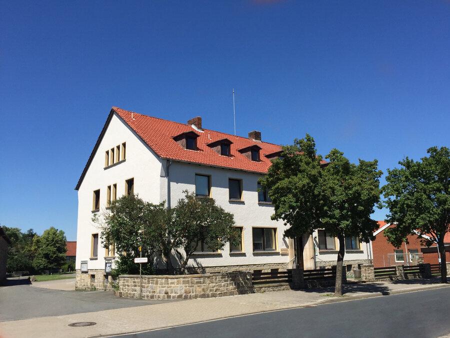 Das Rathaus in Grasleben.