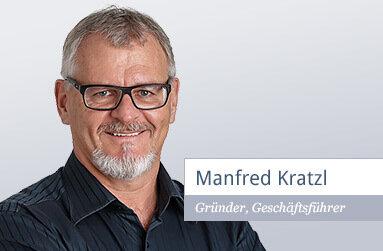Manfred Kratzl Gründer der EDV Consultants Kratzl GmbH