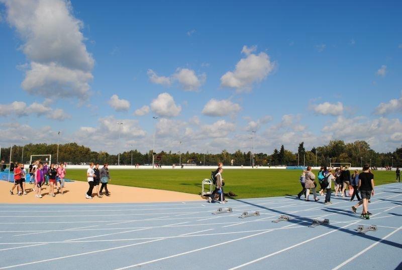 Zahlreiche Spiel- und Sportanlagen in Falkensee laden zur sportliche Betätigung und Bewegung im Freien ein.