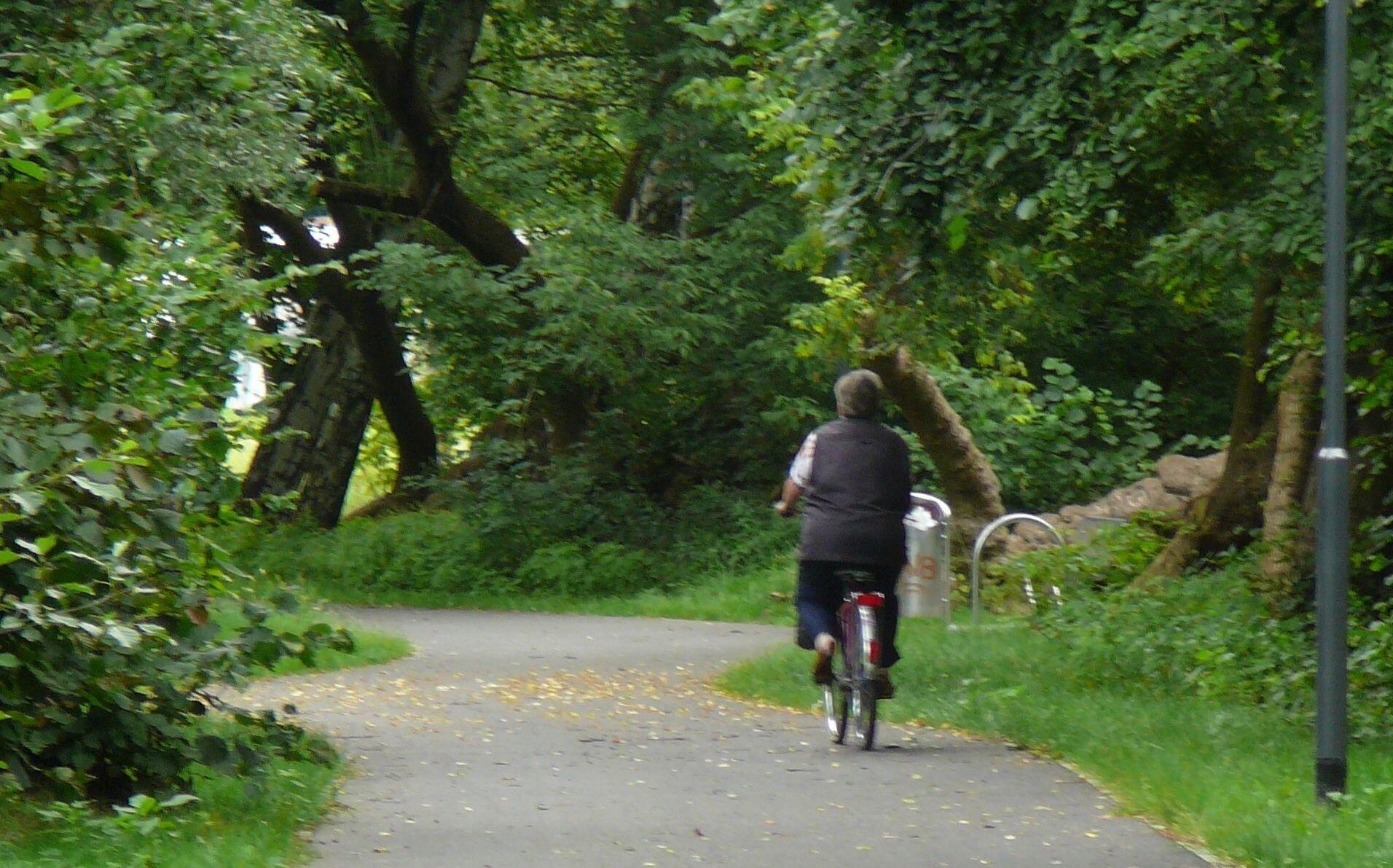 Radwandern in Falkensee