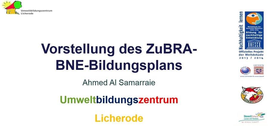 ZuBRA-BNE-Bildungsrahmen