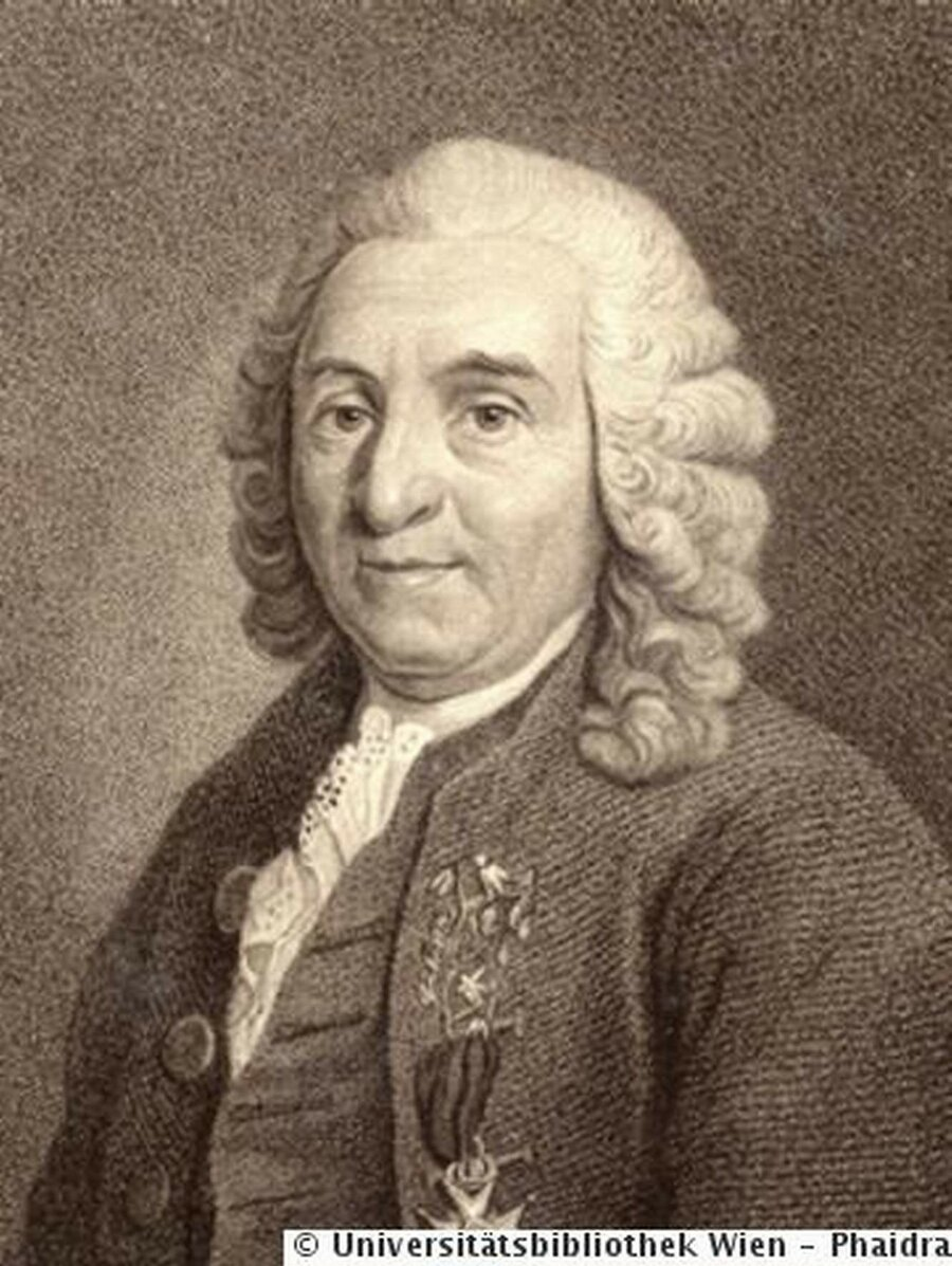 Professor Carl von Linné, ©ÖNB/Wien, Signatur AT-UAW/135.374, Portraitsammlung
