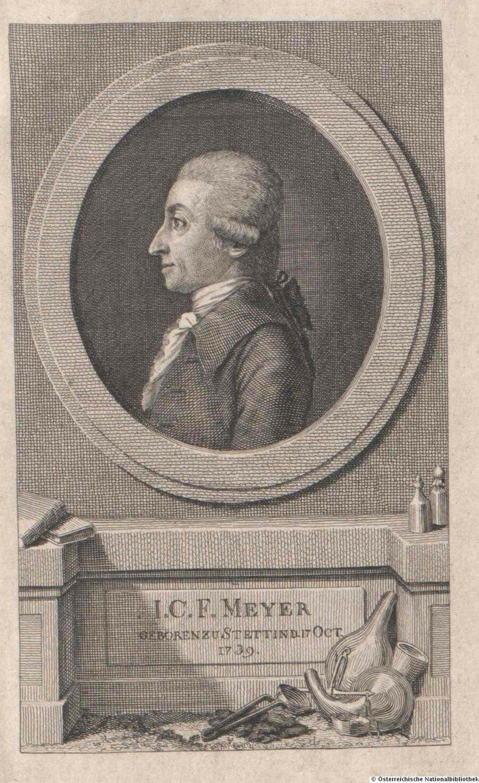 Hofapotheker Karl Friedrich Meyer, ©ÖNB/Wien, Signatur 110286, Portraitsammlung Inventarnummer: oai:baa.onb.at:7704624