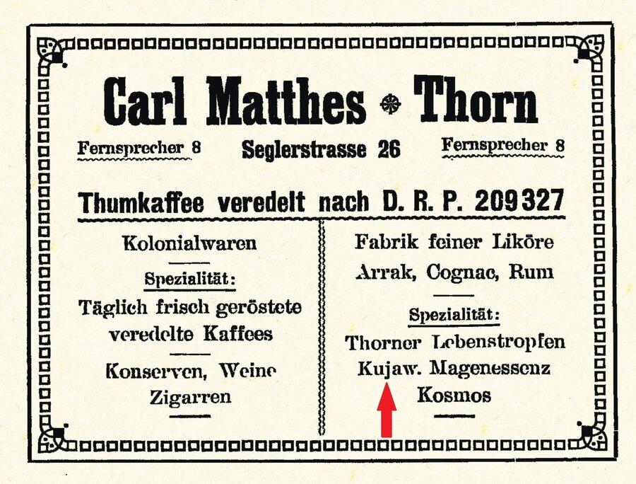 Carl Matthes, Thorn, ©Stephan Becker, Brüssow
