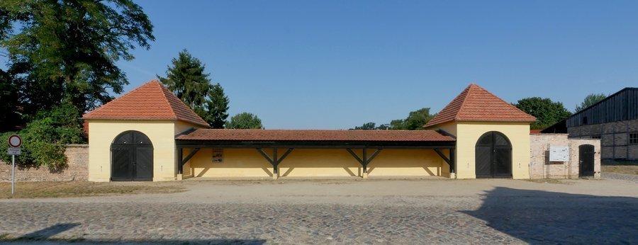 Mehlwaage und Spritzenhaus (Foto U. Steckhan)