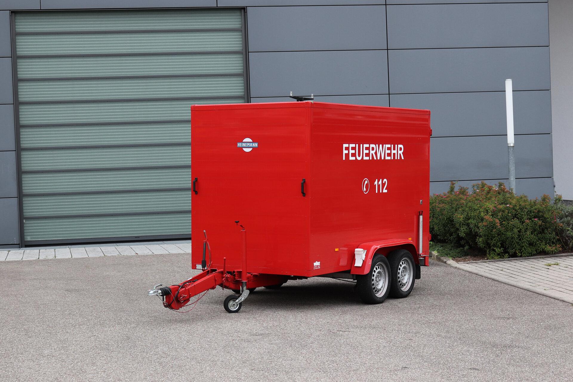 Feuerwehranhänger-Koffer
